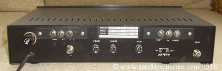 Anderson Scientific Satellite Receiver