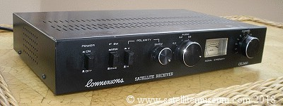The Connexions 2450 satellite receiver