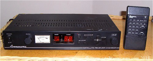 The Connexions 2460 satellite receiver