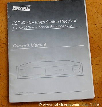 Drake ESR 4240E satellite receiver date