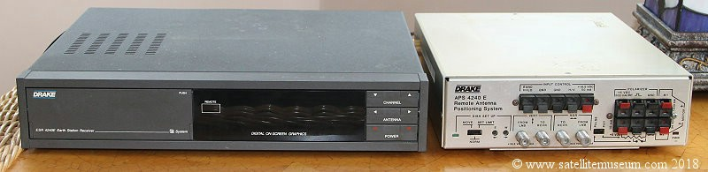 Drake ESR 4240E satellite receiver and APS 4240E positioner