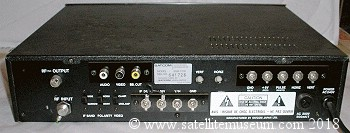 satcom 7700 back