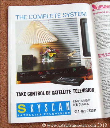 Skyscan Advert