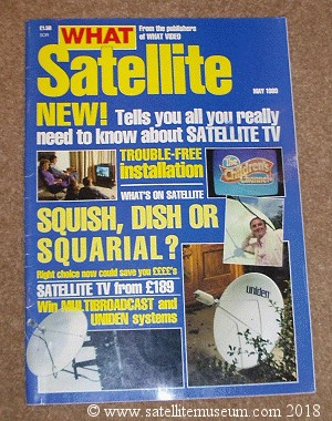 What Satellite Magazine May 1989