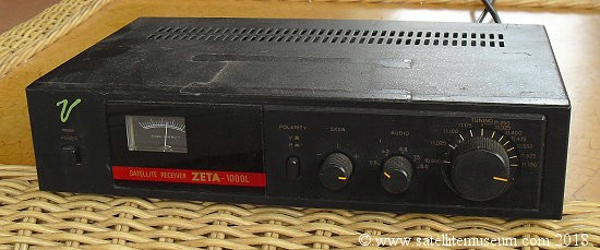 The Zeta-1000L satellite receiver
