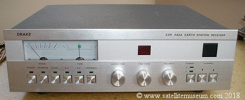 Museum of vintage satellite receivers  BSB squarial, History