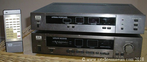 Museum of vintage satellite receivers  BSB squarial, History