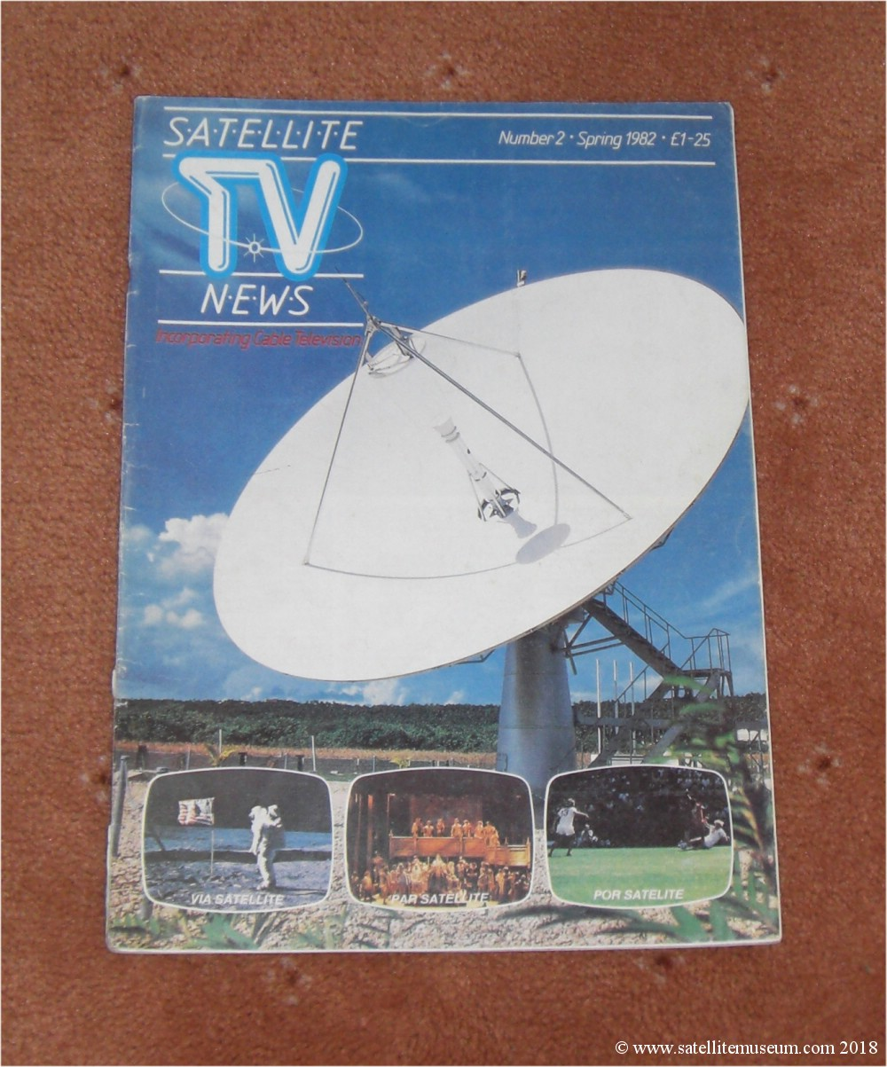 Satellite Museum Uk A History Of Satellite Tv Vintage Satellite Receivers And Satellite Dishes